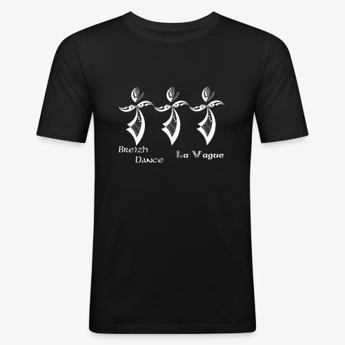 BZH Typik Design - La Vague - T-shirt près du corps Homme