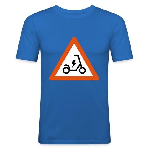 Electric Scooter - Maglietta aderente da uomo