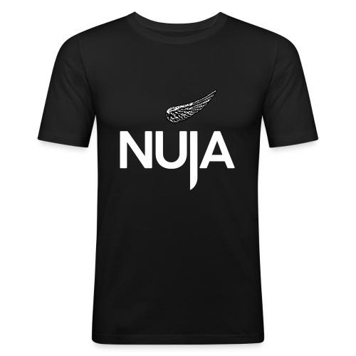 NUJA Premium Merch - Slim Fit T-skjorte for menn