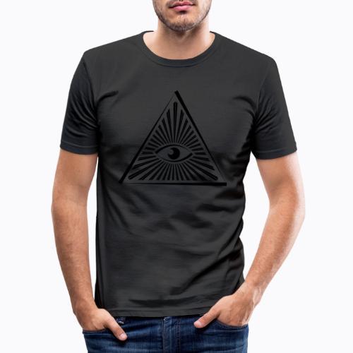 eye - Men's Slim Fit T-Shirt