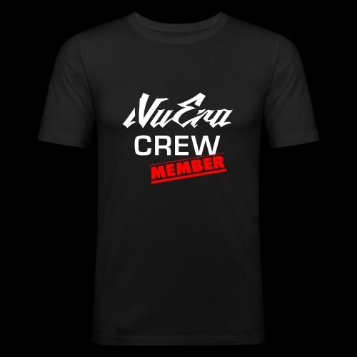 NuEra Crew Logo 2018 - Männer Slim Fit T-Shirt