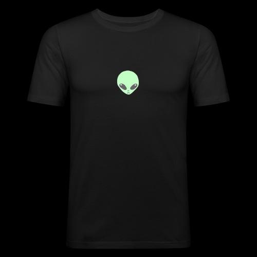 Alien-pet - Mannen slim fit T-shirt