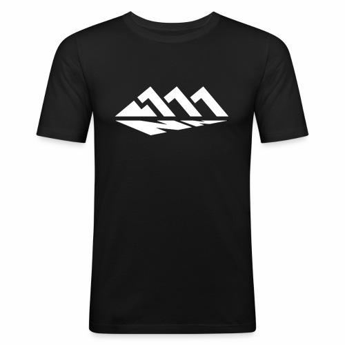 111NN Weiß - Männer Slim Fit T-Shirt