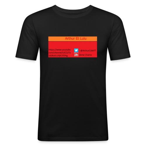 Arthur Et Lulu - T-shirt près du corps Homme