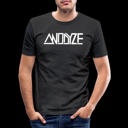 ANODYZE Standard - Männer Slim Fit T-Shirt