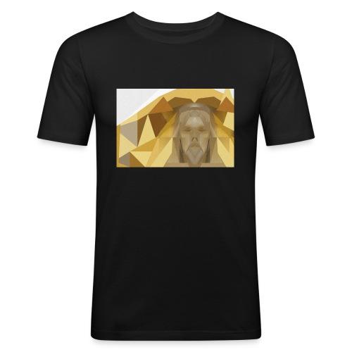 In awe of Jesus - Men's Slim Fit T-Shirt