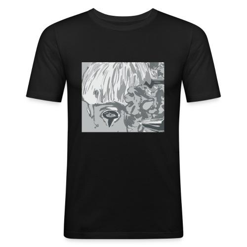 fiori_6-png - Maglietta aderente da uomo