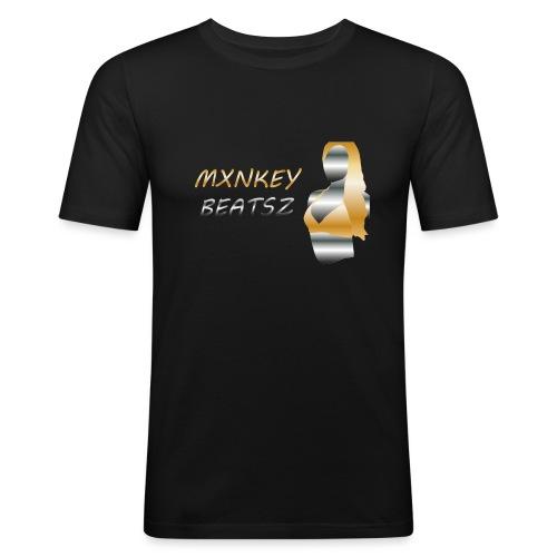 Mxnkey Beatsz Snapback - Mannen slim fit T-shirt