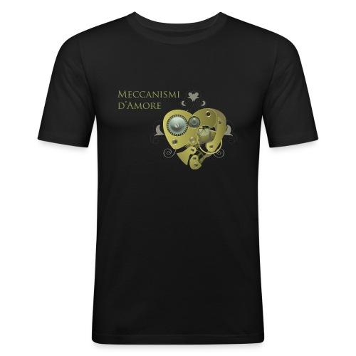meccanismi_damore - Maglietta aderente da uomo