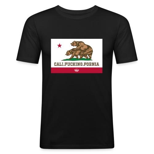 California, Californiano, Fuck, Orso - Maglietta aderente da uomo
