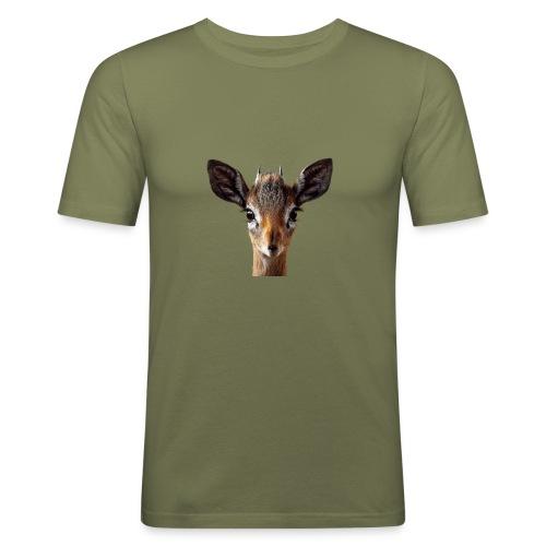 Antilope, Dik - Männer Slim Fit T-Shirt