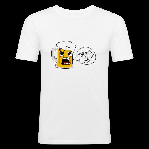 Bière - T-shirt près du corps Homme