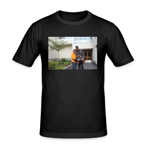 ishaa aziiz - Slim Fit T-shirt herr