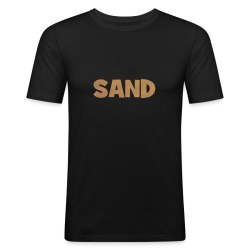 Sand Strand T-Shirt - Männer Slim Fit T-Shirt