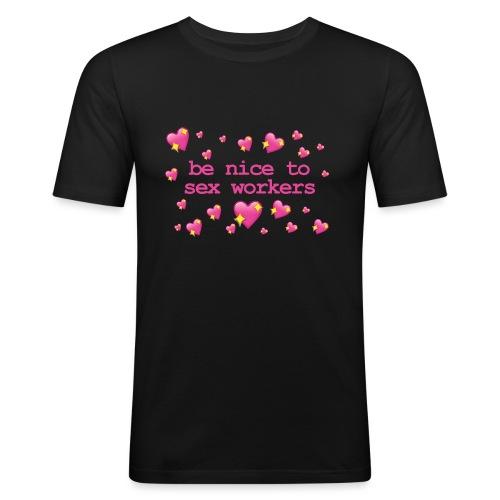 benicetosexworkers - Men's Slim Fit T-Shirt