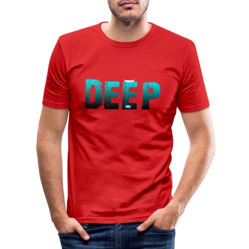 Deep In the Night - Maglietta aderente da uomo