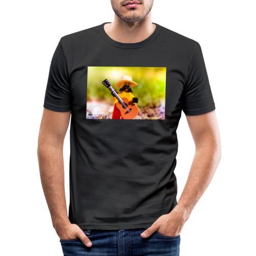 Słońce, natura i muzyka i czego chcieć więc? - Obcisła koszulka męska