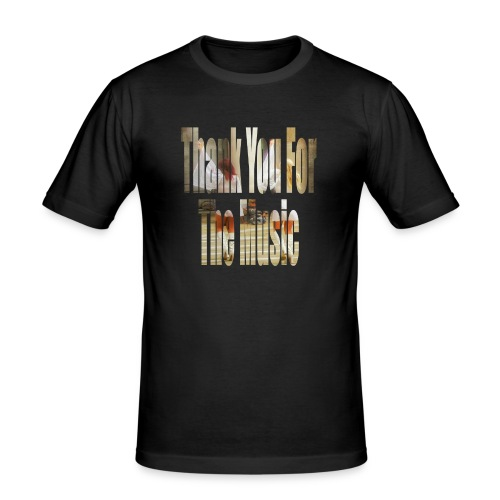 Thank You For The Music - Men's Slim Fit T-Shirt