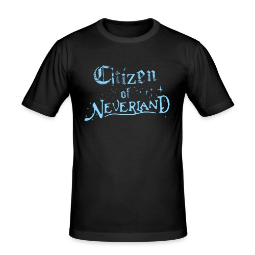 Citizen_blue 02 - Men's Slim Fit T-Shirt