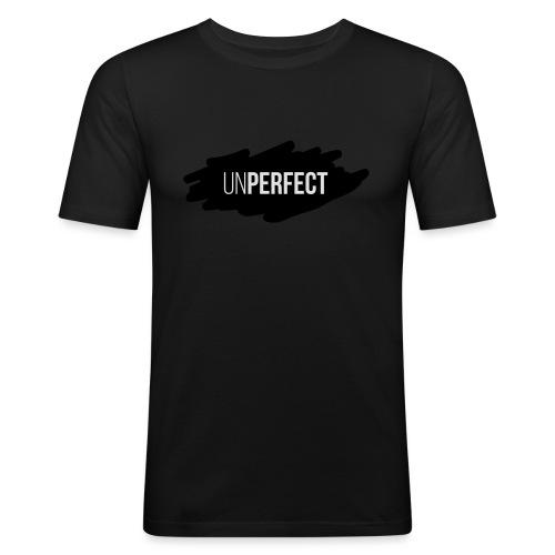 UNPERFECT LOGO 2 - Männer Slim Fit T-Shirt
