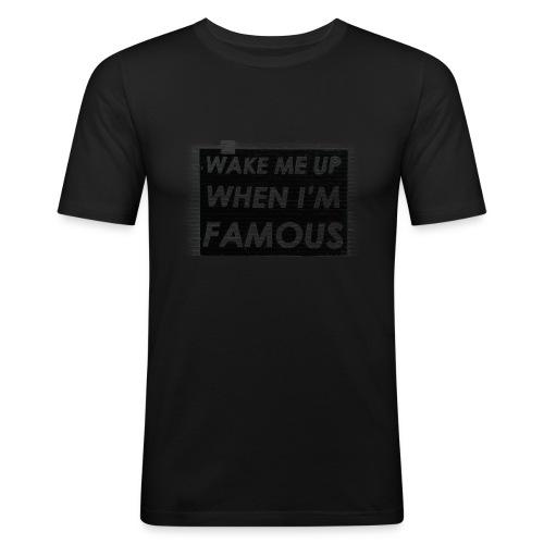WMUWIF Male - Mannen slim fit T-shirt