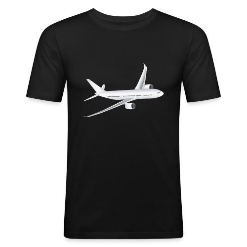 Flugzeug - Männer Slim Fit T-Shirt