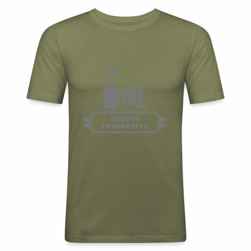 Kleine Fotografen AI SW - Männer Slim Fit T-Shirt