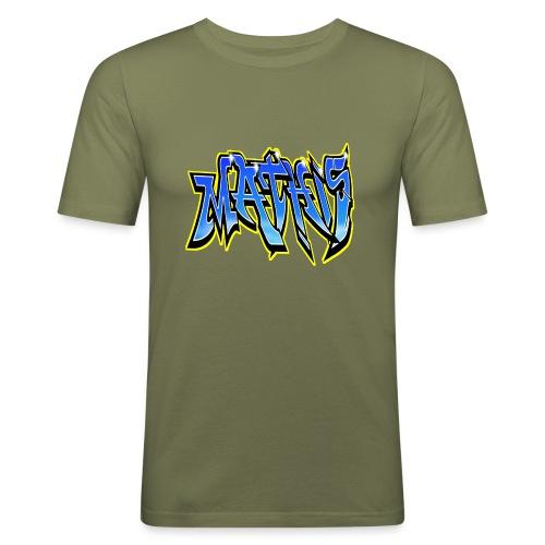 Graffiti Mathis - T-shirt près du corps Homme