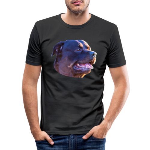 Rottweiler - Men's Slim Fit T-Shirt