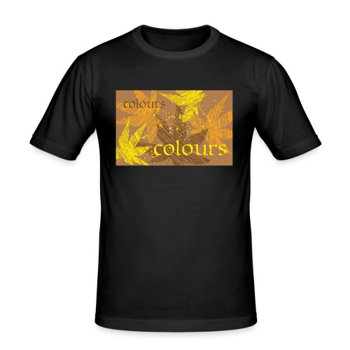 autumn theme - Obcisła koszulka męska