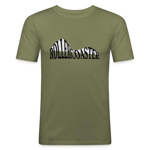 envelope_coaster - Herre Slim Fit T-Shirt