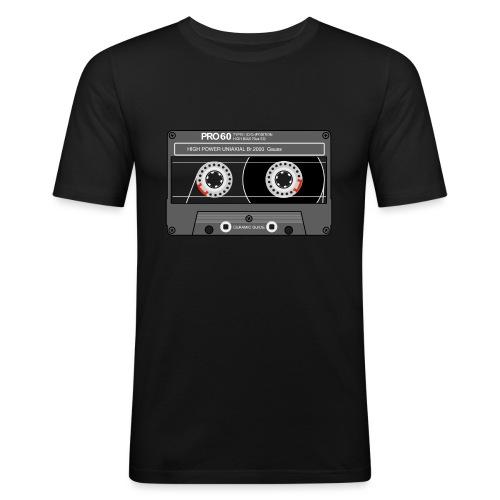 Cassette SONY UX Pro black - Men's Slim Fit T-Shirt