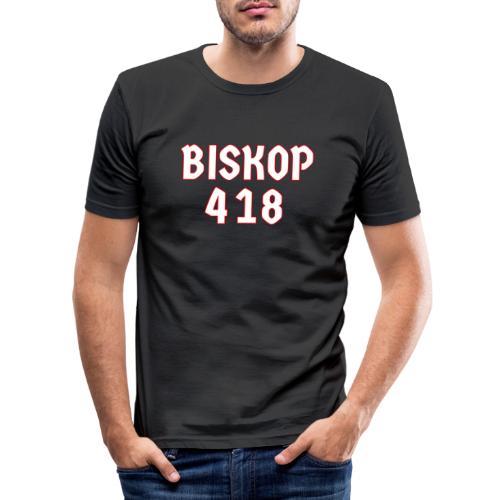 Biskop 418 - Slim Fit T-shirt herr