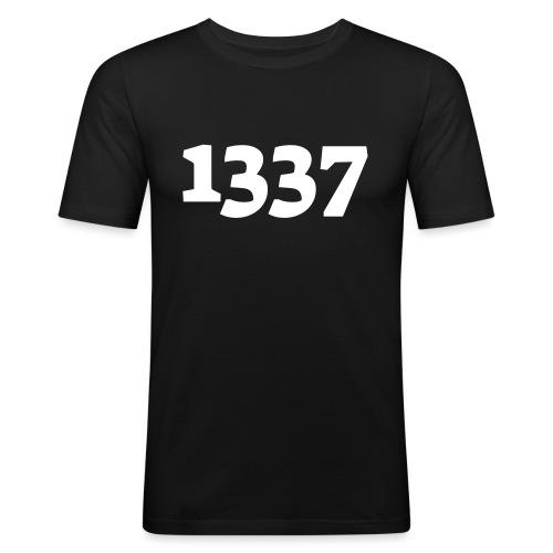 1337 - Herre Slim Fit T-Shirt