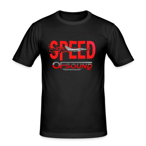 Speed of sound 1947 - T-shirt près du corps Homme