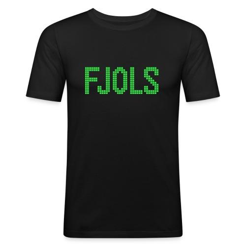 FJOLS Grøn - Herre Slim Fit T-Shirt