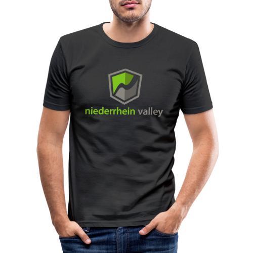 Niederrhein Valley - Männer Slim Fit T-Shirt