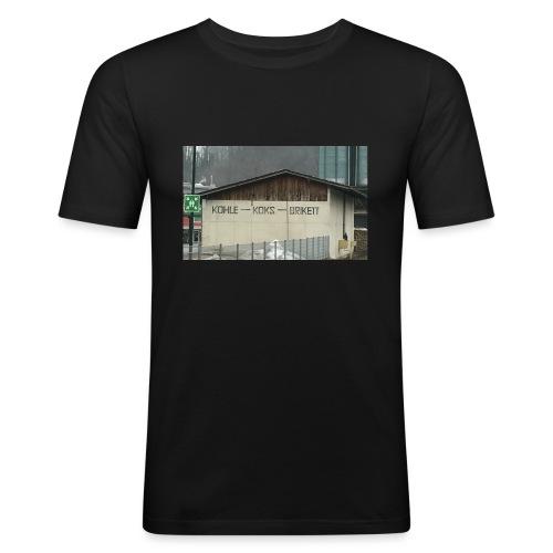 Sammelstelle KOKS - Männer Slim Fit T-Shirt