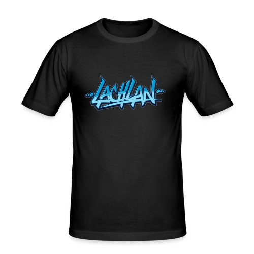 lachlan - Mannen slim fit T-shirt