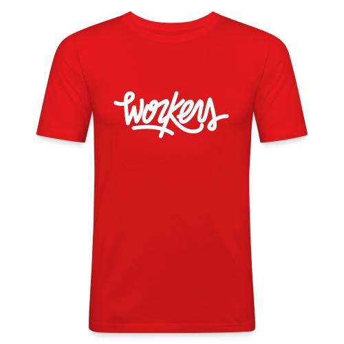 Logo WorkersBeats - T-shirt près du corps Homme