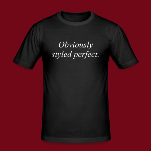 perfect style - Männer Slim Fit T-Shirt