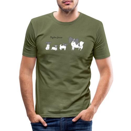 papillon forever - Herre Slim Fit T-Shirt