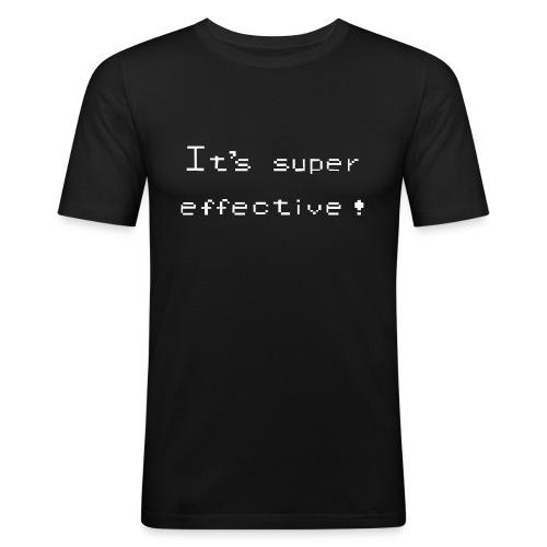 its super effective white - Herre Slim Fit T-Shirt