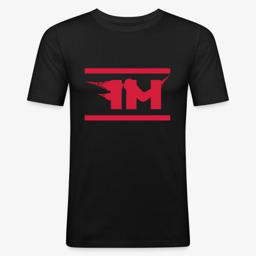 FM Psychdelic Tank White - Männer Slim Fit T-Shirt