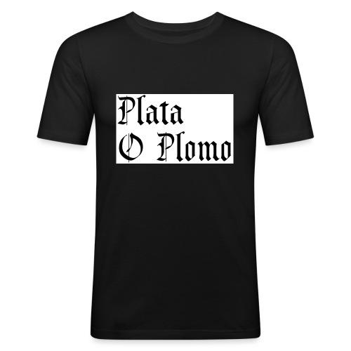 Plata o plomo - T-shirt près du corps Homme