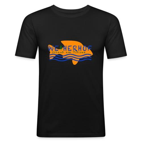 Weiherhof - Männer Slim Fit T-Shirt