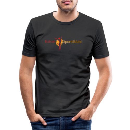 Kaisan Sporttiklubi logo - Miesten tyköistuva t-paita