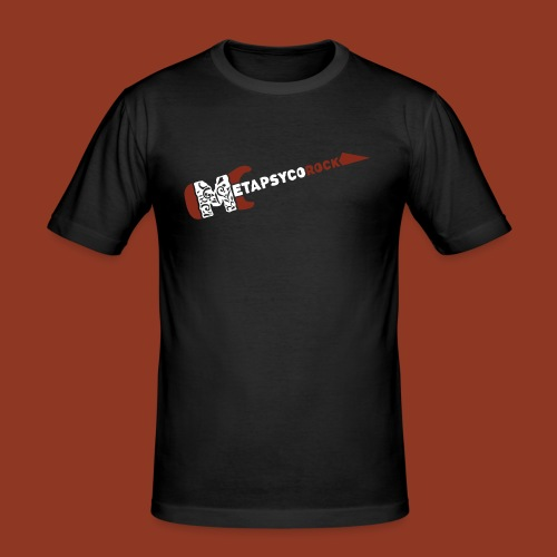 METAPSYCOROCK - Maglietta aderente da uomo