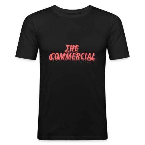 The Commercial Design #1 (Salmon - Men's Slim Fit T-Shirt