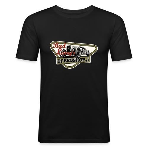 1929 larrys speedshop white pbC - Männer Slim Fit T-Shirt